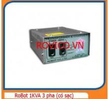 Ổn Áp RoBot 1KVA 3 Pha (có sạc)