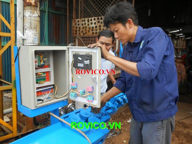 cách sử dụng máy uốn đai sắt tự động