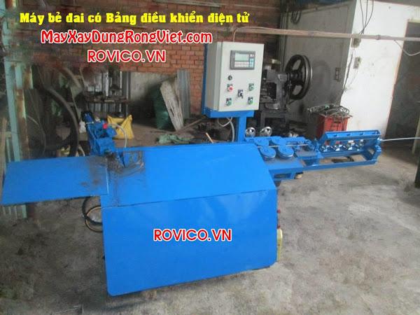 Sản xuất máy bẻ đai sắt tự động, báo giá máy bẻ đai sắt tự động