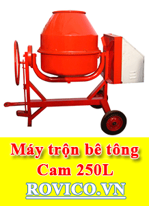 Nhập khẩu máy trộn bê tông 250 lít giá sỉ, giá rẻ
