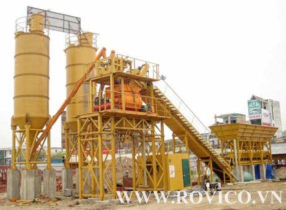 Thông tin về trạm trộn bê tông Rồng Việt